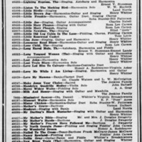 Copy of Okeh Records Catalog Page