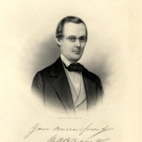 Drawing of William B. Shepard
