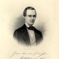 Drawing of William B. Shepard