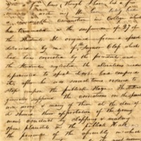 Letter, Iverson L. Brookes to Jonathan Brookes