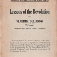 Lessons of the Revolution