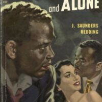 Stranger and Alone by J. Saunders Redding