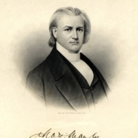 Drawing of Charles Manly