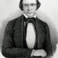 Lithograph of Robert Hett Chapman