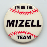 Wilmer Mizell button