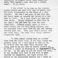 Letter. Tony Alderman to Archie Green