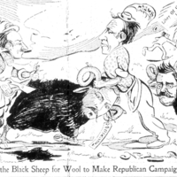 Shearing the Black Sheep for Wool to Make Republican Campaign Hats.