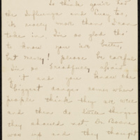Letter from Jane Crichton Williams Lewis to Lucy Tunstall Alston Williams, September/October 1918