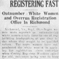 Rocky Mount Telegram Saturday September 18, 1920