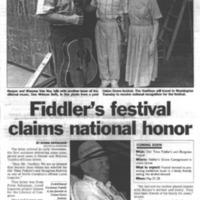 Fiddler's Festival Claims National Honor