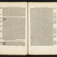 Image of open book containing opening passage of Airs, Waters, Places by Hippocrates