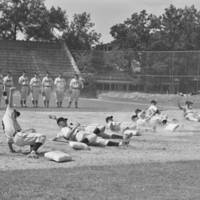Cloudbusters baseball team, UNC Pre-flight school, June 1942