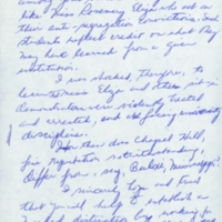 Letter from (Sender Unknown) to President William Friday.