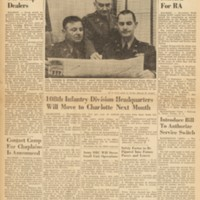 front cover of News Of North Carolina Military District by North Carolina Military District Headquarters, Raleigh, N.C.