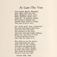 At Last - The Vote song lyrics
