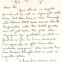 21 June 1961: Jeanne E. Marion to Paul Green.