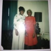 Sarita Alston's paternal grandmother, Sarah Alston Maclin, and her mother, Mary Moye Alston