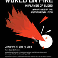 World on Fire: Promotional Flyer