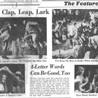 Clog, Clap, Leap, Lark: 4-Letter Words Can Be Good, Too