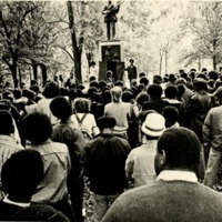 James Cates memorial demonstration, 19 November 1971