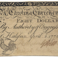 CK.123.2_Eightdollar_bill_of_credit_1776_face.jpg