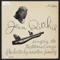 Singing the traditional songs of her Kentucky mountain family