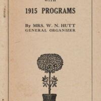 "How to Organize a Club of ""United Farm Women"""