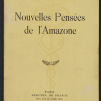 <br /><br /> Nouvelles pensées del&#039;Amazone/ New thoughts of the Amazon<br /><br />