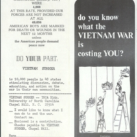 """Do You Know What the VIETNAM WAR is Costing YOU?"""