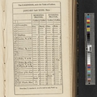 Book of Common Prayer (1801)