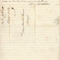 Elisha Mitchell to David L. Swain.