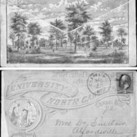 Envelope, University of North Carolina,