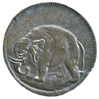 Genuine Carolina elephant token