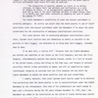 "Ca. 1983: Pages from typed draft of ""Preserving the Constitution: the Autobiography of Senator Sam J. Ervin, Jr."" (excerpt includes pages 167-170)"
