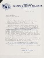 Letter: Lela Chesson to Sam Ervin, Jan 29, 1975