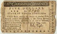 North Carolina paper money