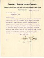 Julius W. Cone to Edward K. Graham