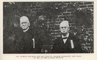 Colonel Robert Bingham and Major John W. Graham