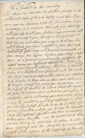 17 April 1799. Jeremiah Battle letter.