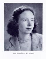 Lee Bronson '44, First Woman Chair of Carolina Political Union