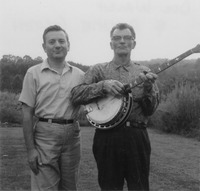 Archie Green, left, with Dock Walsh