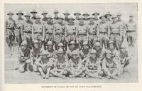 Members of the Class of 1917 at Fort Oglethorpe