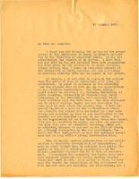 Edward K. Graham to Josephus Daniels