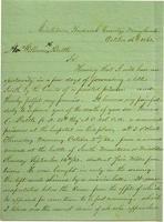Ellen Selsum to the Honorable William H. Battle
