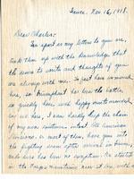 John Overton Dysart to Charles S. Mangum Jr.