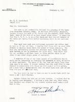 Roland B. Parker to W. D. Carmichael
