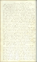 6 October 1856. Proceedings of the Faculty.
