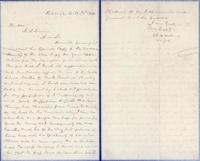 Theophilus Hunter Holmes to President Swain