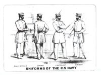 Confederate States Navy Uniforms, War Department