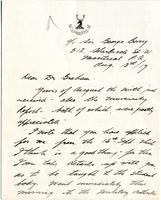 J. Stuart Allen to Edward K. Graham